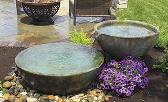 Aquascape Spillway Bowl Basin Fountain