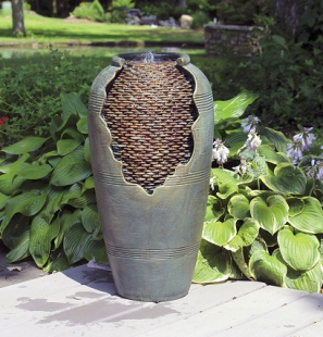 Easy Pro Self Contained Cracked Vase Fountain