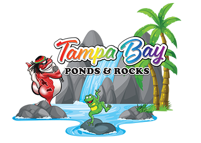 Tampa Pond and Rock Logo