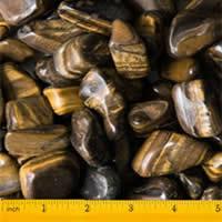 High Quality Large Tiger Polished Pebbles 1