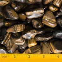 High Quality Medium Tiger Polished Pebbles