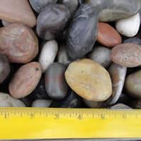 Polished Mix Beach Pebble 1 2